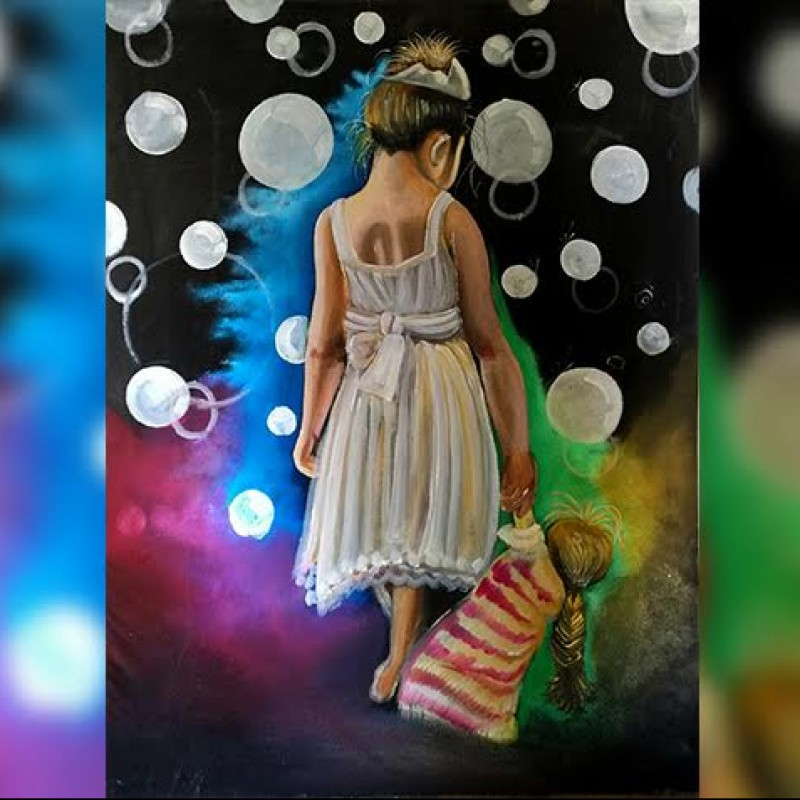 """I am still a little girl"" by Eyad Sabagh"