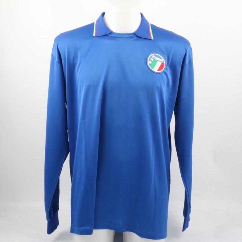 Ancelotti Match-Issued/Worn Shirt, 1986