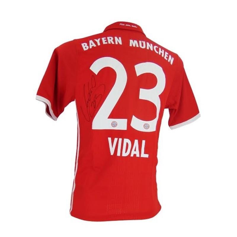 Signed Arturo Vidal Bayern Munich Shirt