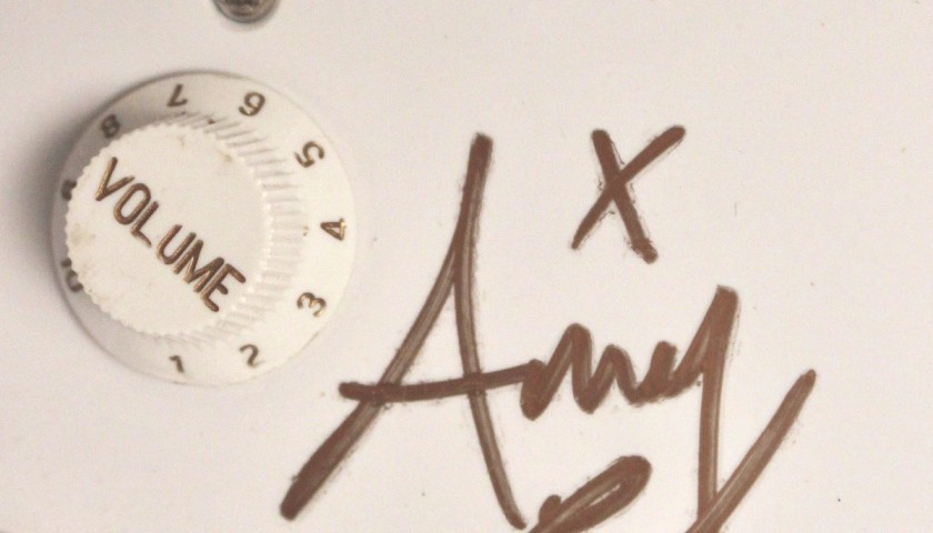 Stratocaster Guitar Signed by Amy Winehouse