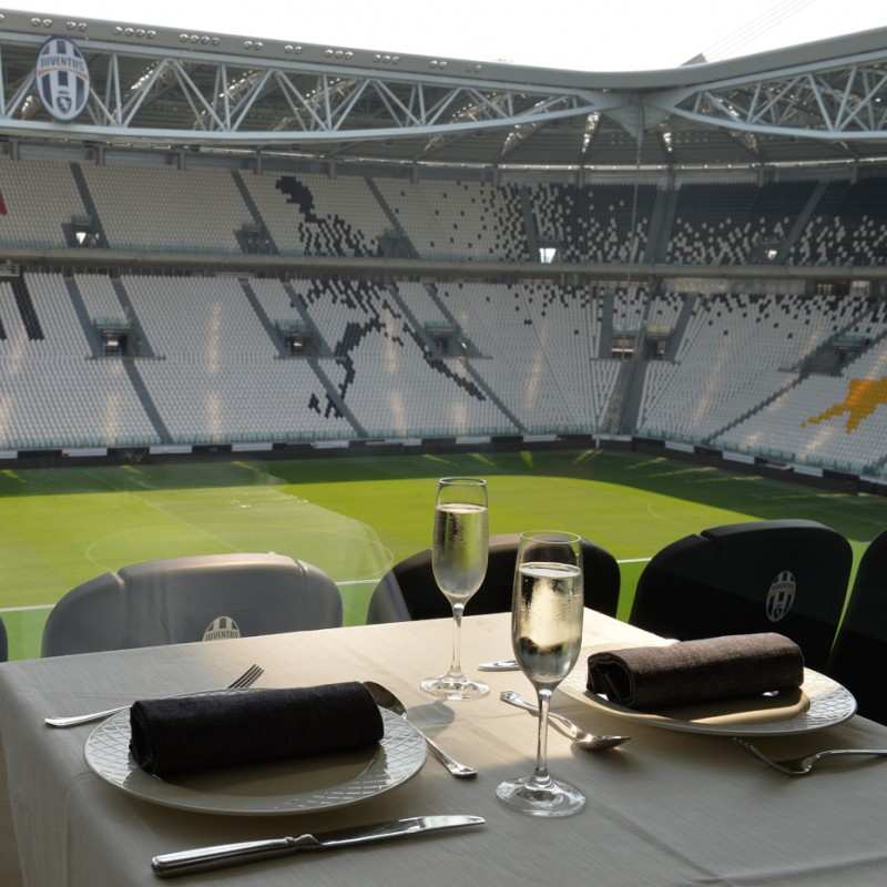 "2 Seats in the Sky Box to Watch ""Partita del Cuore"" at Juventus Stadium"