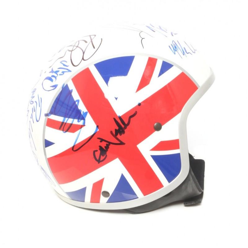 The Who Tribute Signed Lambretta Helmet