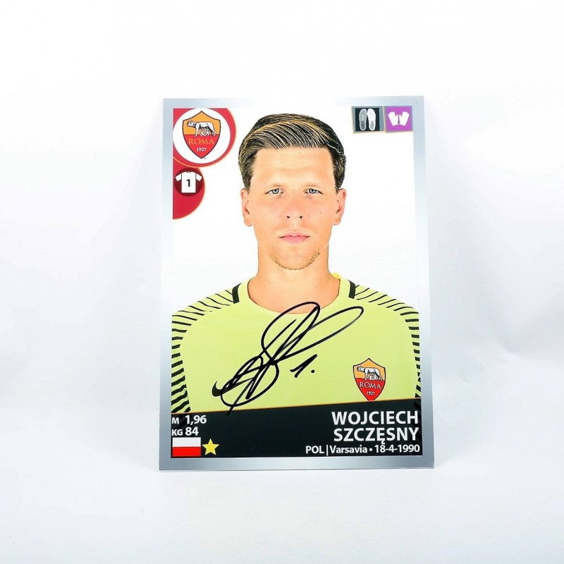 Szczesny, Limited Edition Box and Signed Maxi Sticker