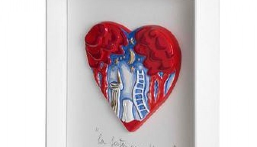 """""""La fata guardiana"""" Giosetta Fioroni artwork"""