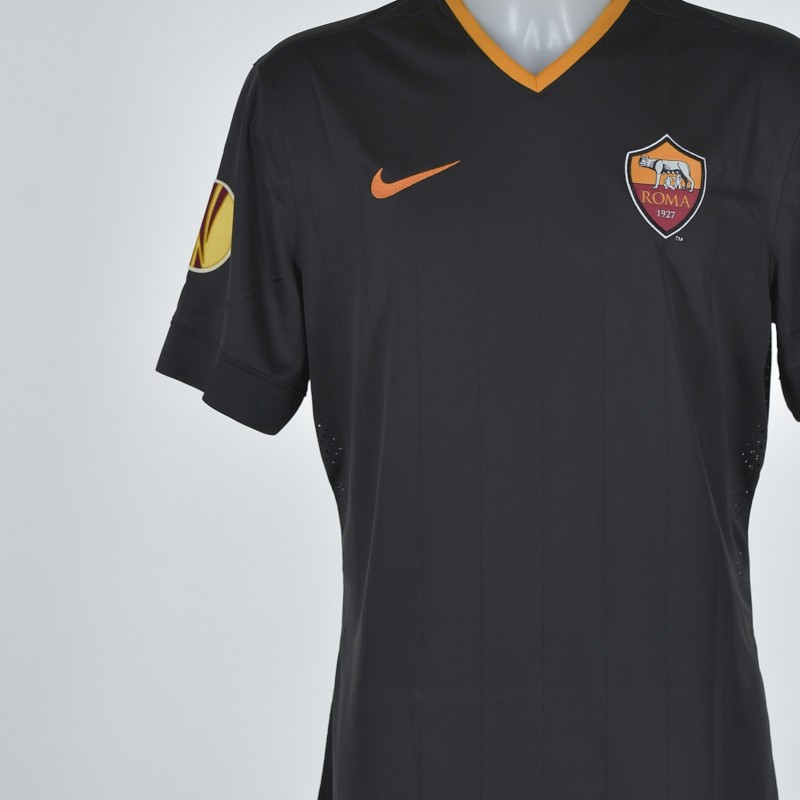 De Rossi's match issued shirt, Feyenoord-Roma