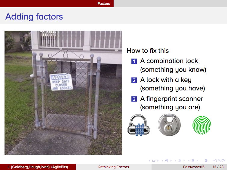 Adding locks to a useless gate