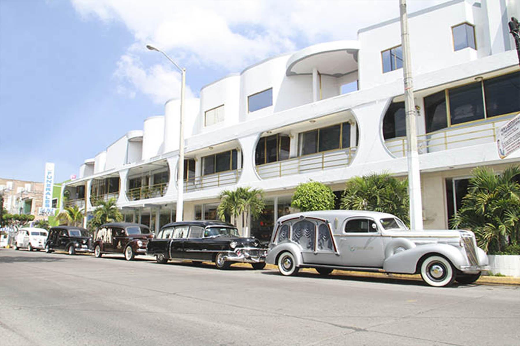 Funerarias  guadalajara  funerales de la paz  fachada principal