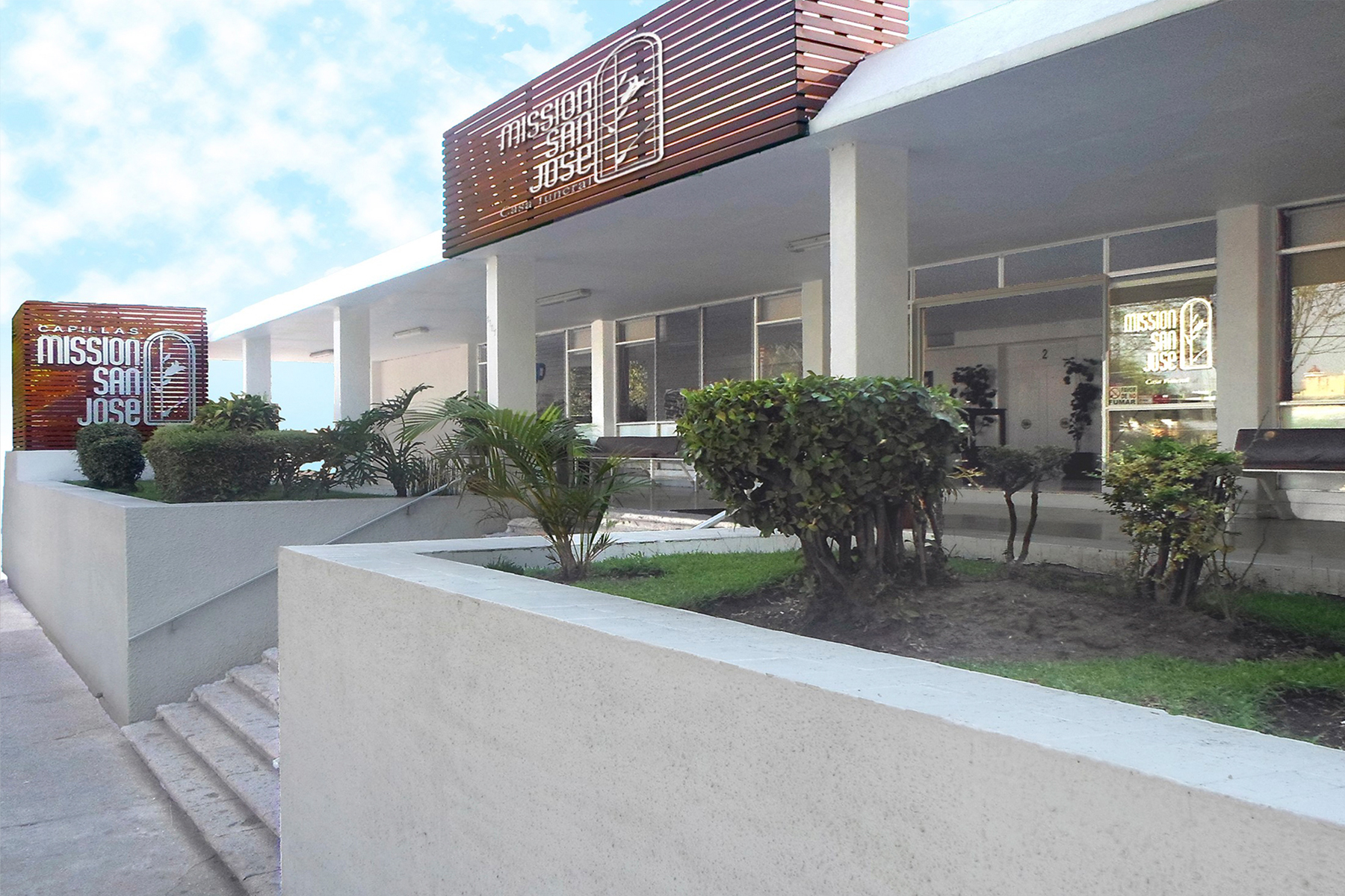 Funerarias  guadalajara  mision san jose  alcalde  fachada