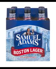 Samuel Adams Boston Lager Beer Bottles - 6 CT