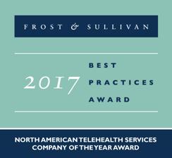 Frost and Sullivan award