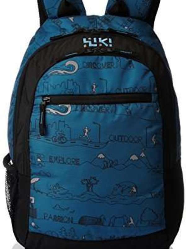 Wildcraft 27 ltrs Blue Casual Backpack (8903338051633)