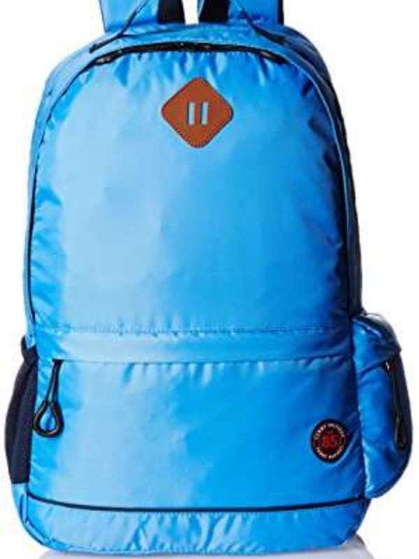 Tommy Hilfiger Light Blue Casual Backpack (TH/BTS24CRU)