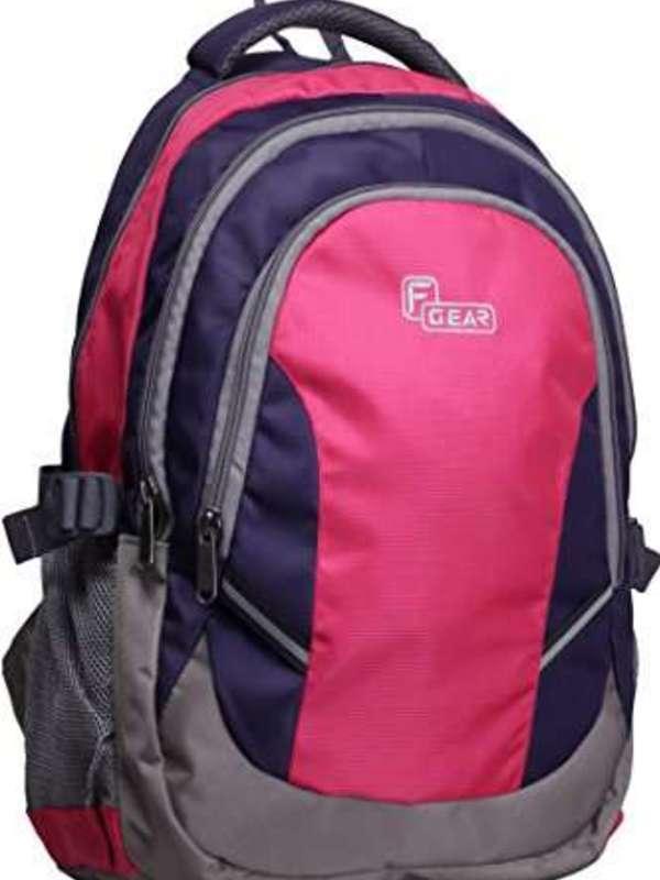 F Gear Code V2 28 Ltrs Purple Pink Backpack