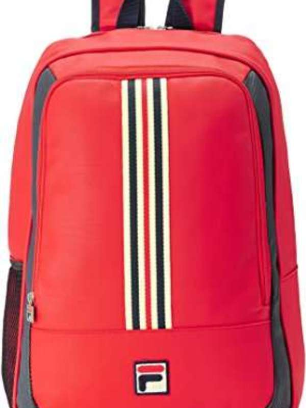 Fila Synthetic 48 cms Chinese Red Casual Backpack (13000838)
