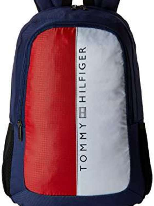 Tommy Hilfiger Horizon 20.7 Ltrs Navy Casual Backpack (TH/BIKOL08HOR)