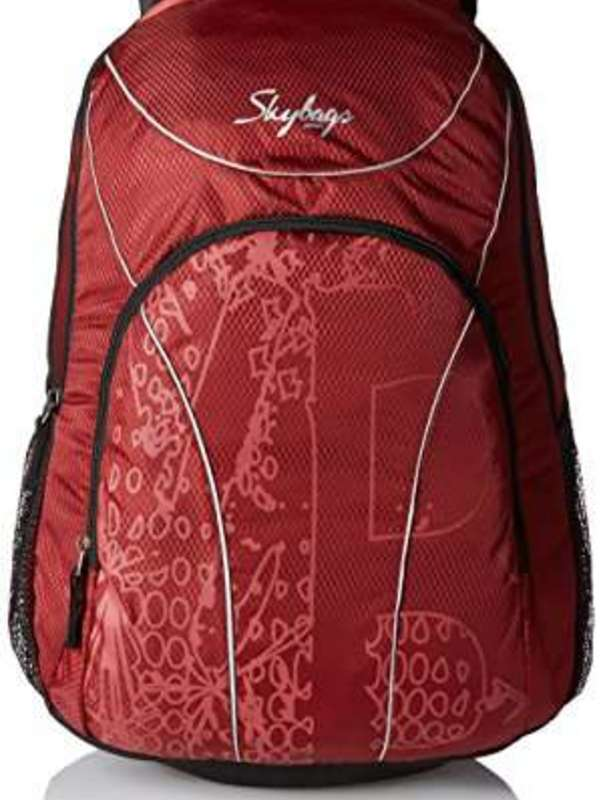 Skybags Flux 25 Ltrs Red Casual Backpack (LPBPFLX1RED)