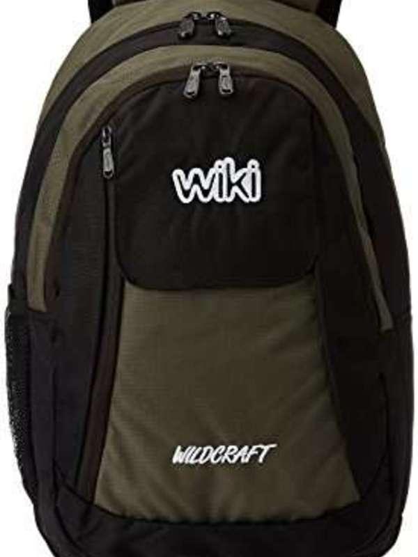 Wildcraft 14 ltr Green Kids Bag (3-5 years age)