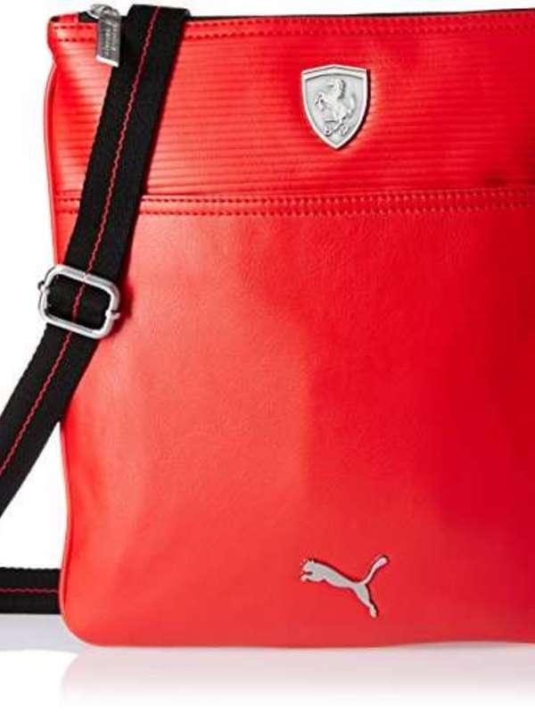 Puma Polyester Rosso Corsa Messenger Bag (7348902)