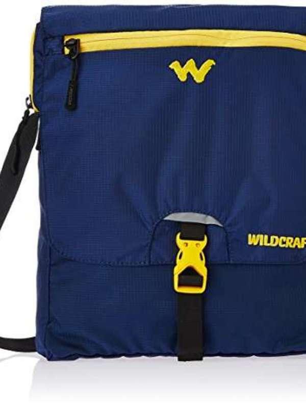 Wildcraft Nylon 15 ltrs Blue Messenger Bag (8903338055464)