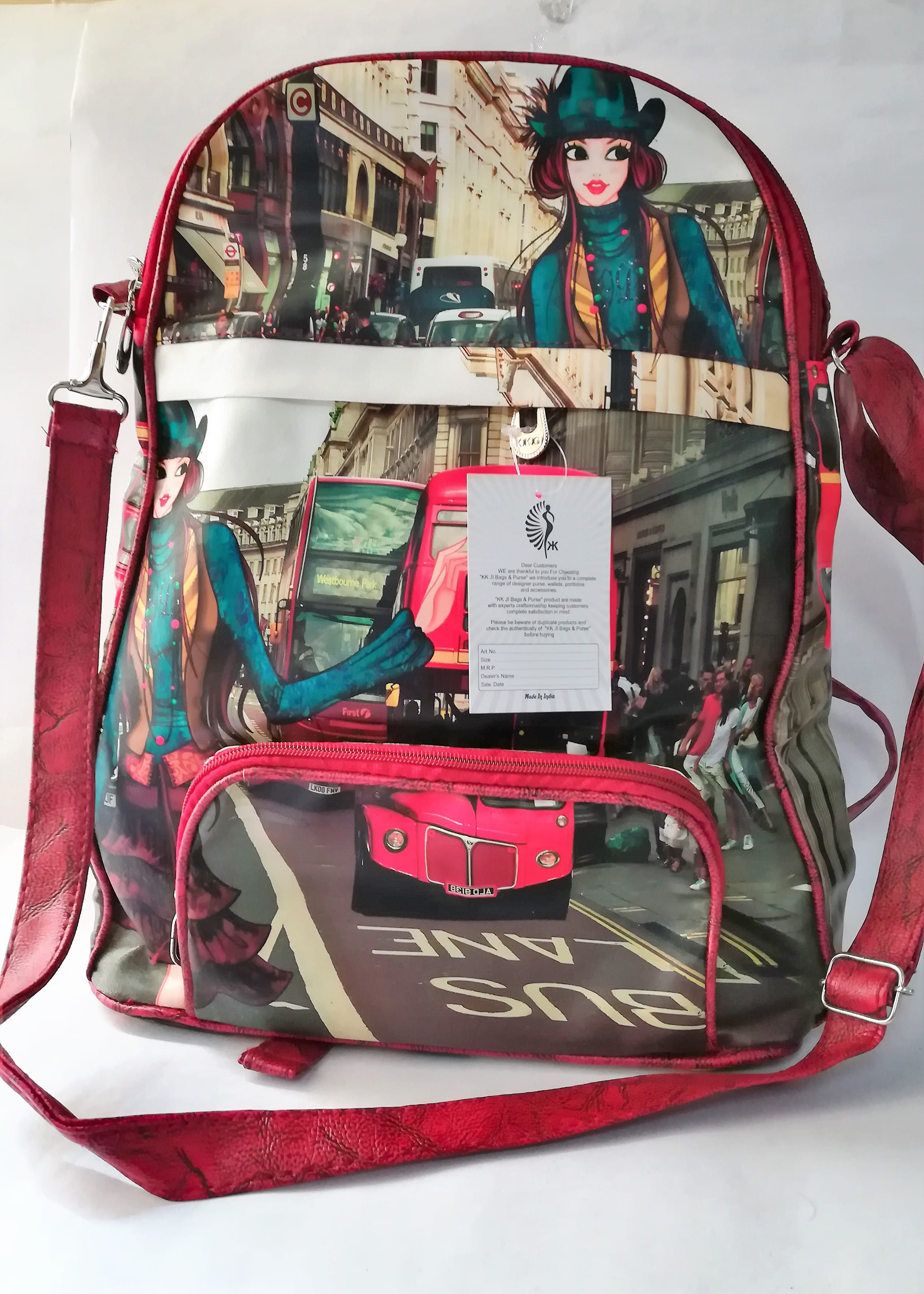 Cool Slingy Backpack : Printed-T2