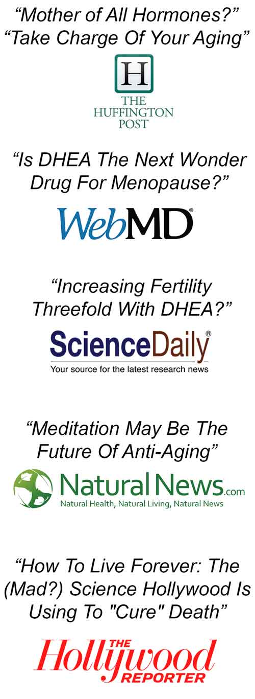 How mindfulness boosts DHEA, longevity