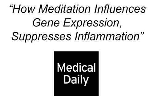 How mindfulness upgrades inflammation genes