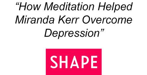 How To Cure Depression With Meditation