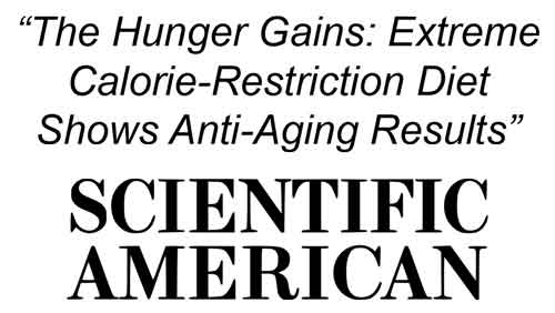 how caloric restriction and meditation reverse aging