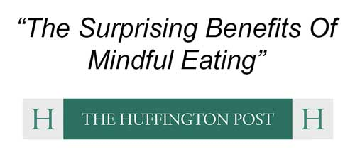 how meditation trains us to eat consciously