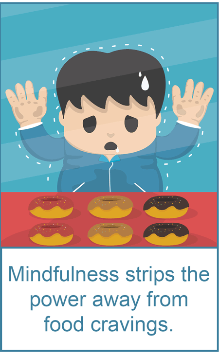 conquer compulsive overeating by mindfully urge surfing your food cravings