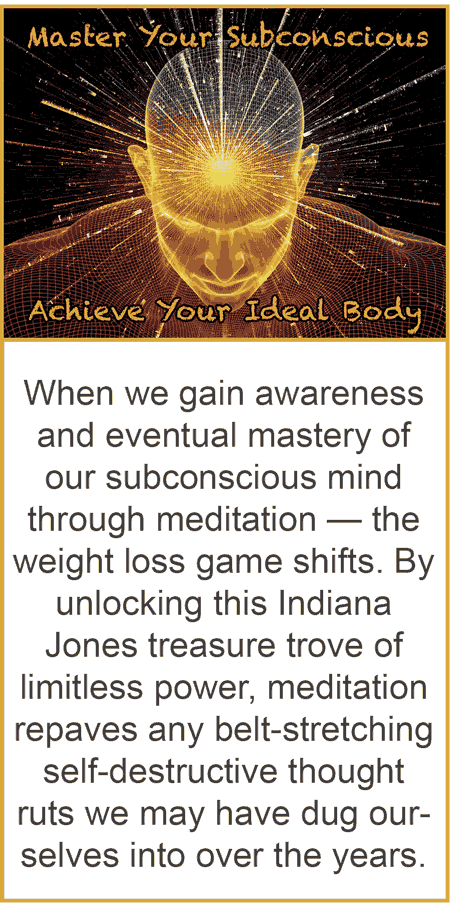 how to train your subconscious mind to lose weight