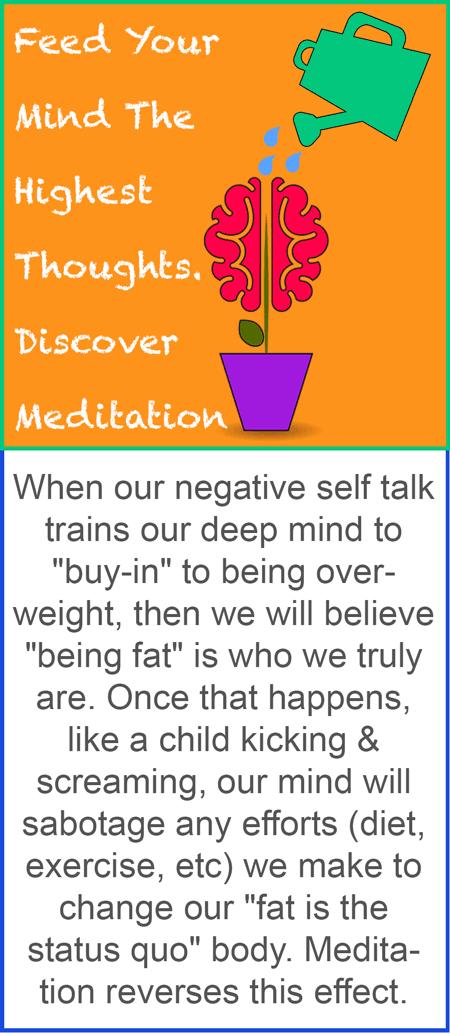 how meditation stops self sabotage
