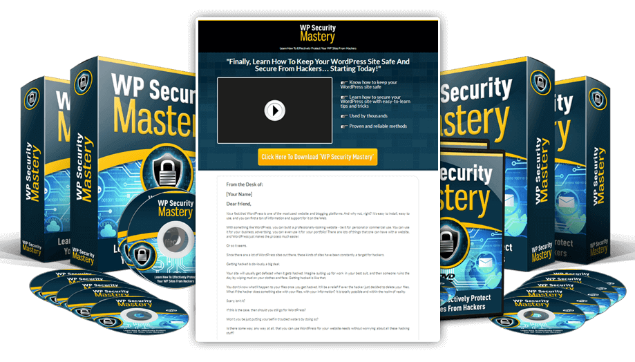 WP Security Mastery Full Package