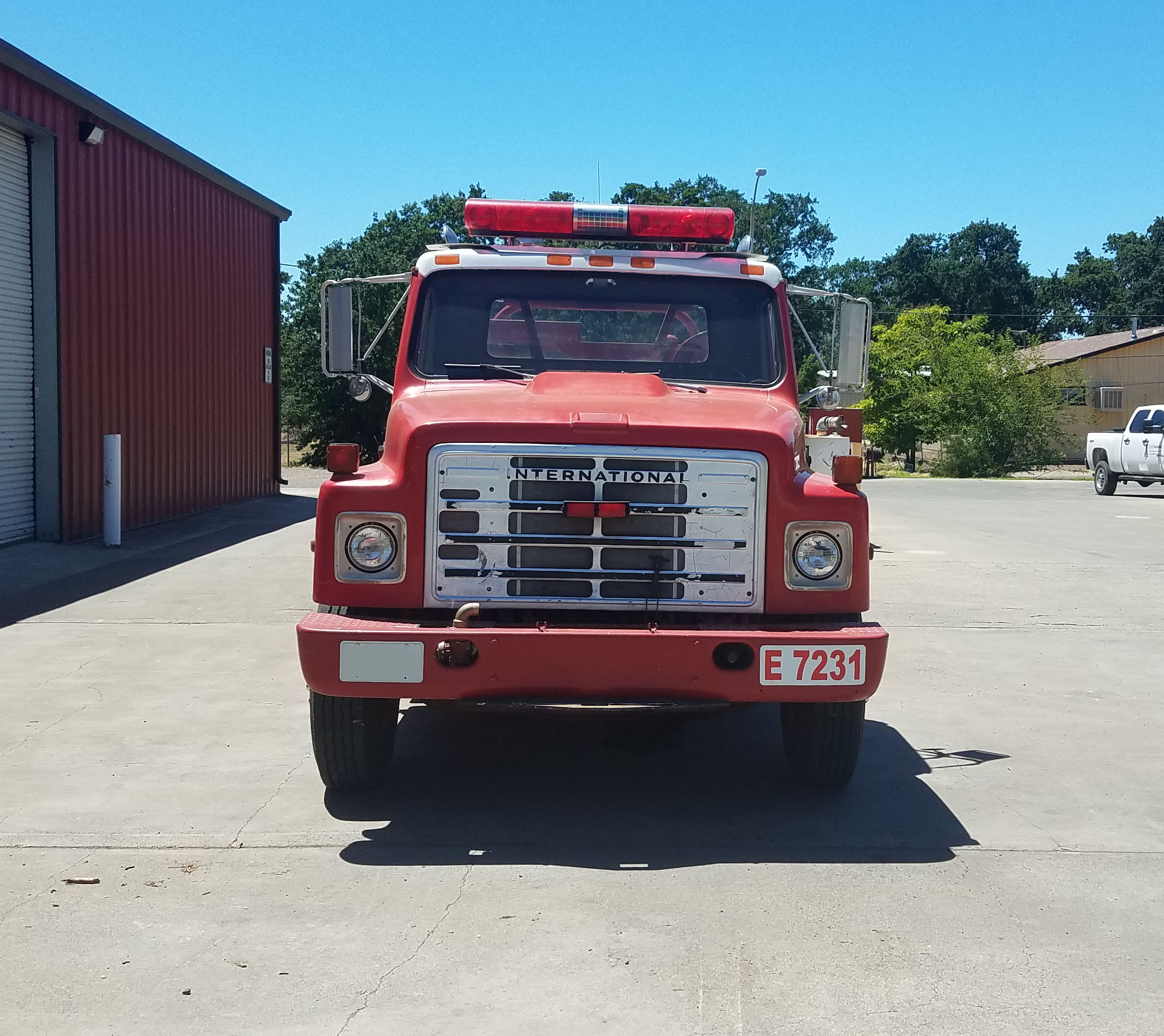 1982 International Western States Brush Truck