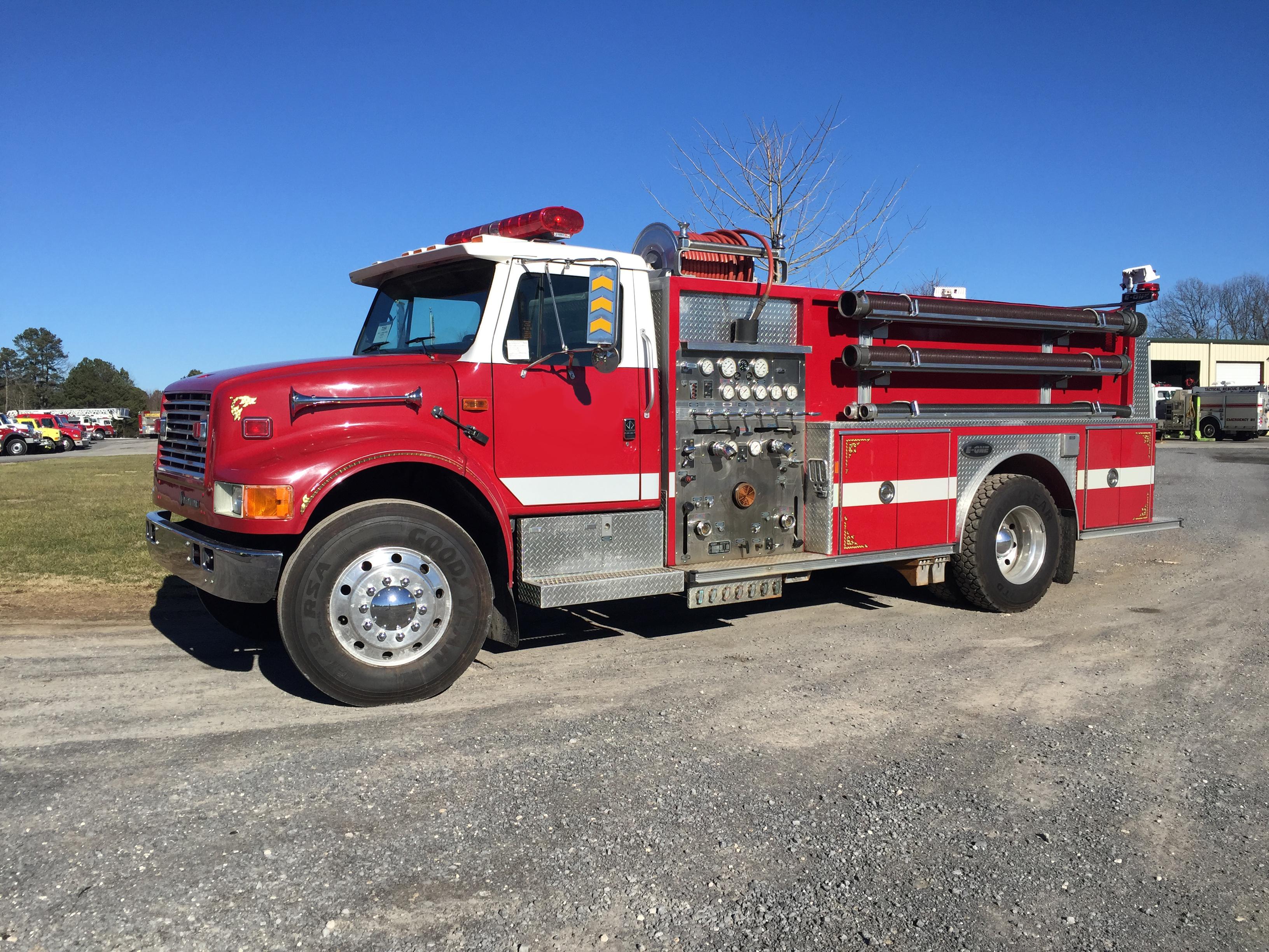 Used Fire Trucks : Truck