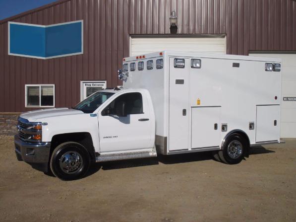 2016 Chevy K3500 Type 1 Generation 2 Ambulance 4x4 | Used