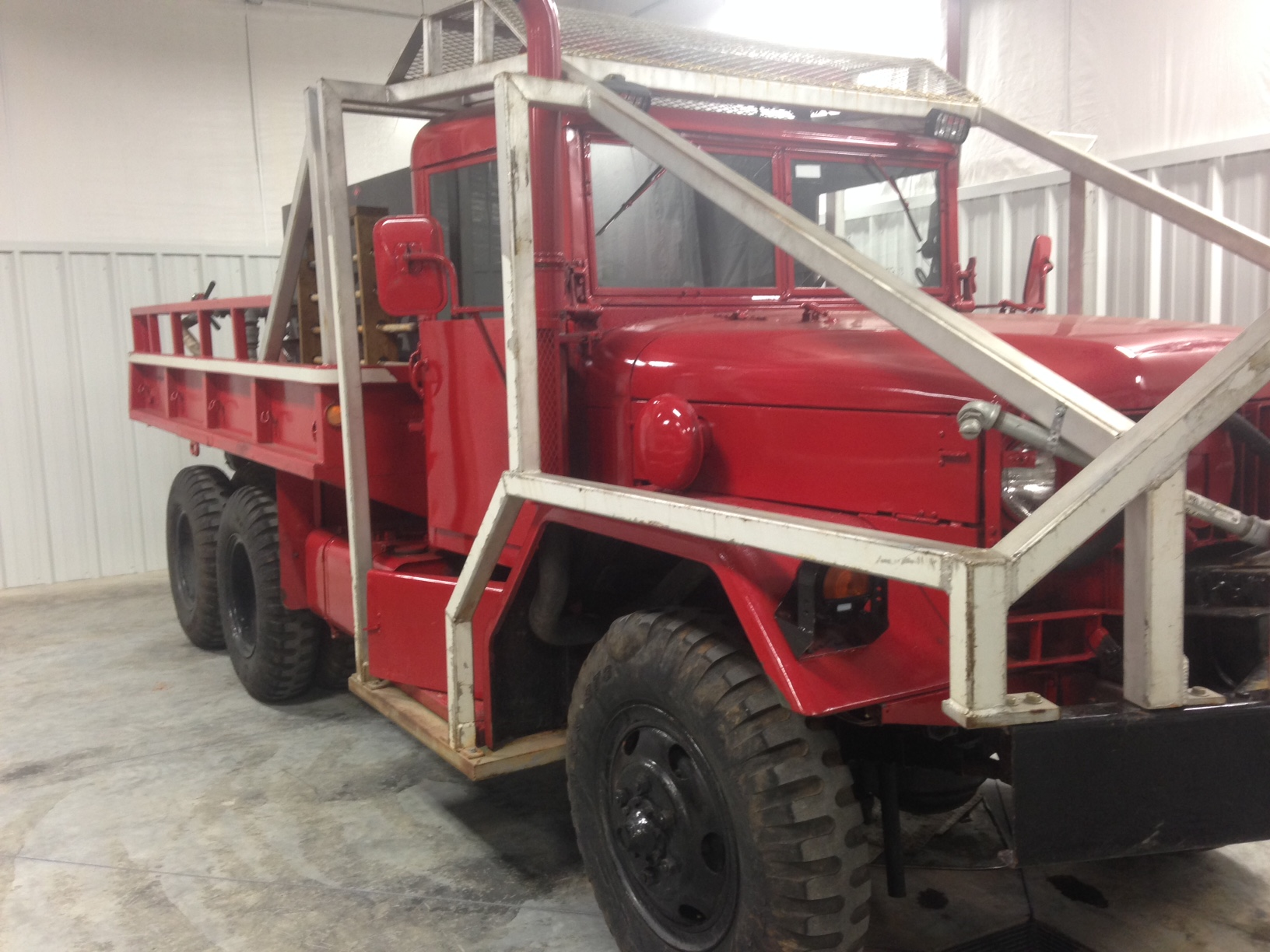 1966 Red Diamond Kaiser- Jeep 6x6 Wildland Unit | Used Truck