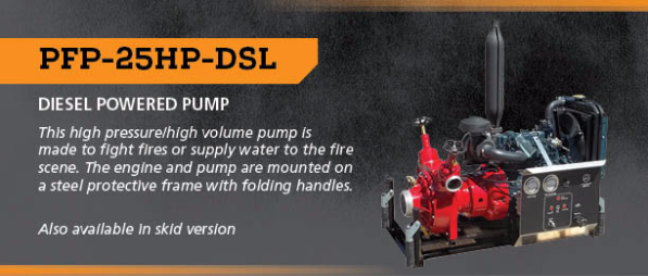 Kubota 25HP Diesel Powered Pump | Used Truck Details