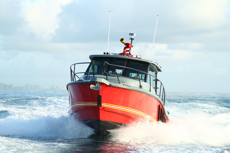 2017 Brunswick Boston Whaler 35' Challenger Fire Boat | Used