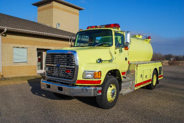 1992 ford l8000 tanker used truck details rh firetruckmall com Ford L6000 1993 Ford L8000
