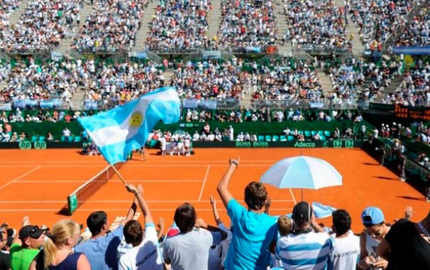 Se ponen en venta las entradas para la serie entre Argentina e Italia por Copa Davis.