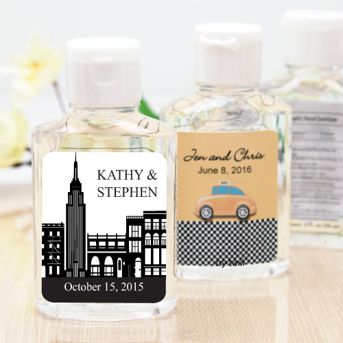 New York Personalized Hand Sanitizer