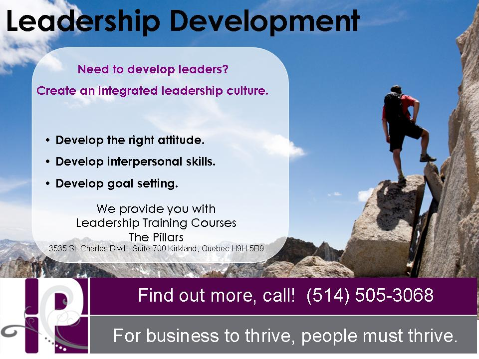 Leadership Training Montreal