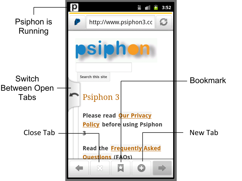 Psiphon 3 Download Page