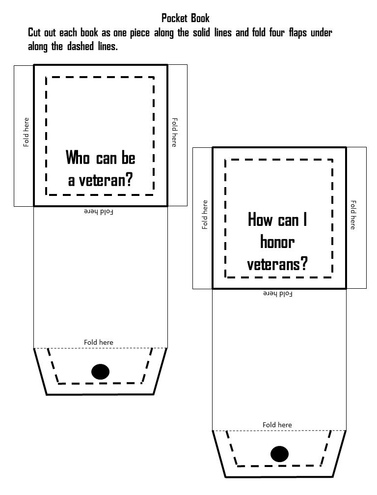 Veteran's Day Flip Book Activities