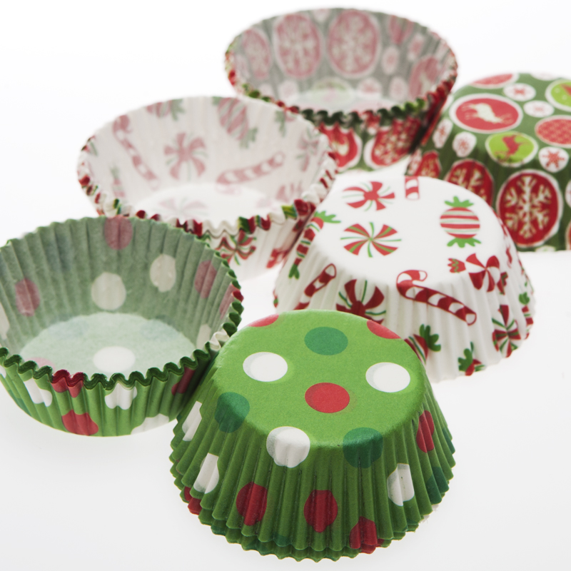 Small Holiday Cupcake Liners 103-064