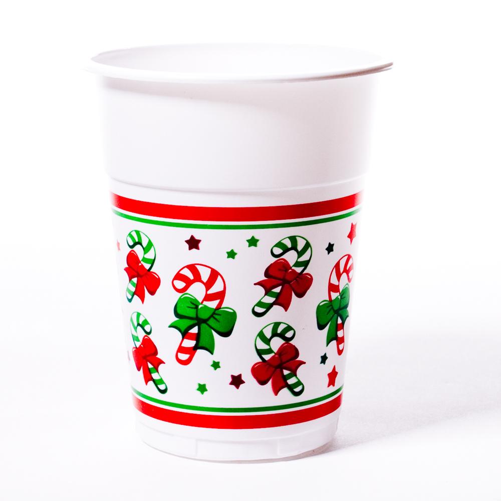 Christmas 16 oz. Plastic Cups 146-188
