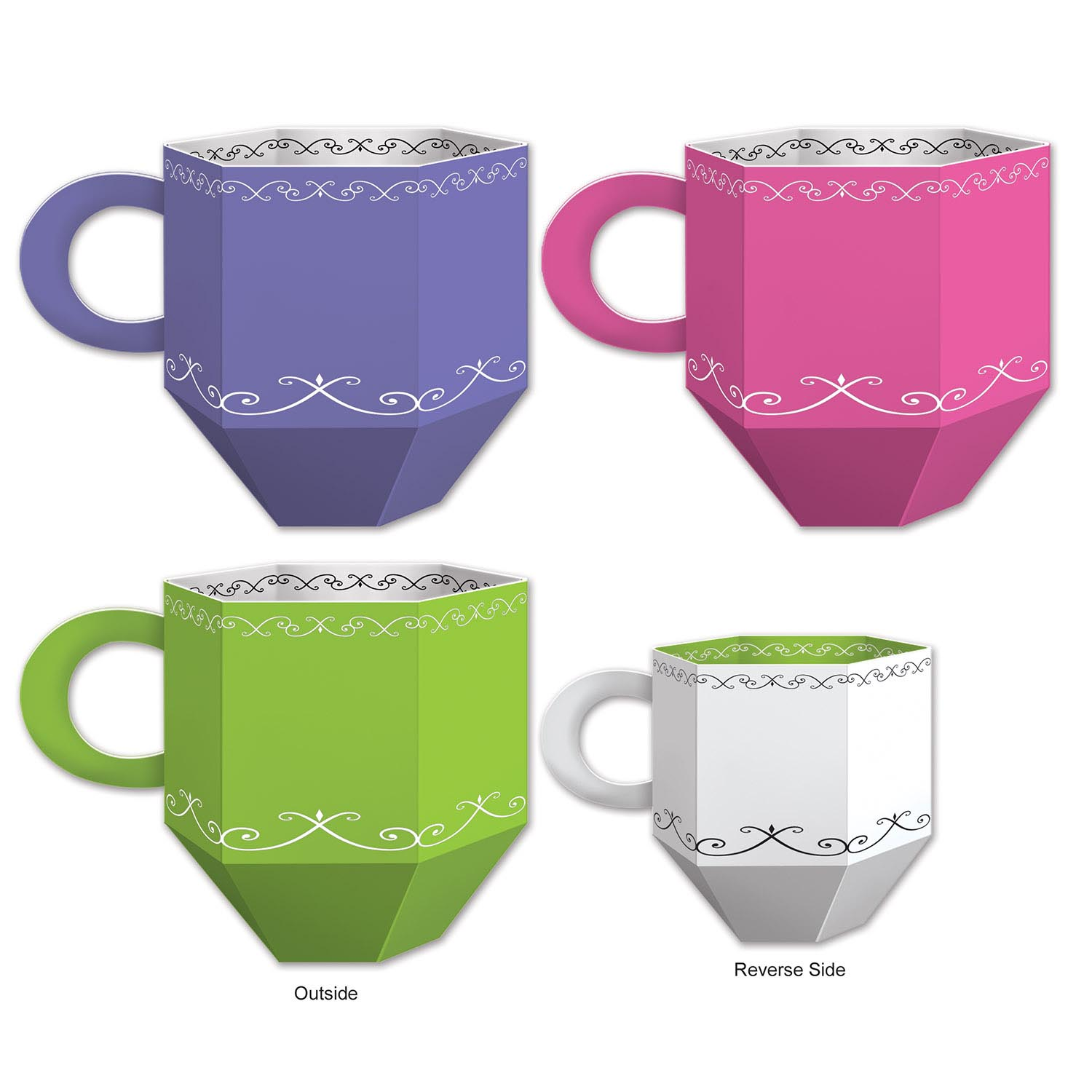 Tea Cup Favor Boxes 234-54783