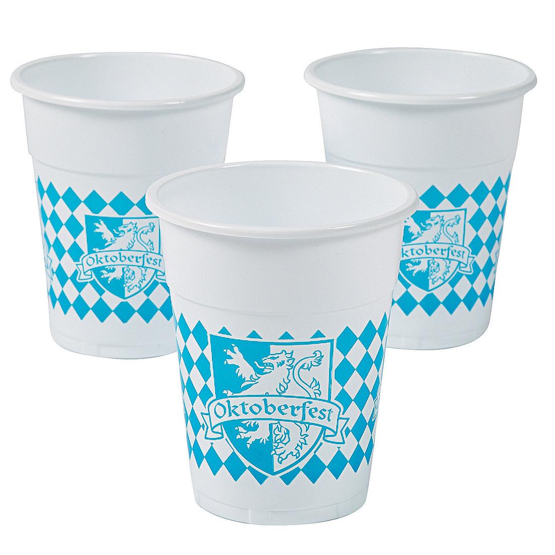Oktoberfest 16 oz. Plastic Cups 386-1025