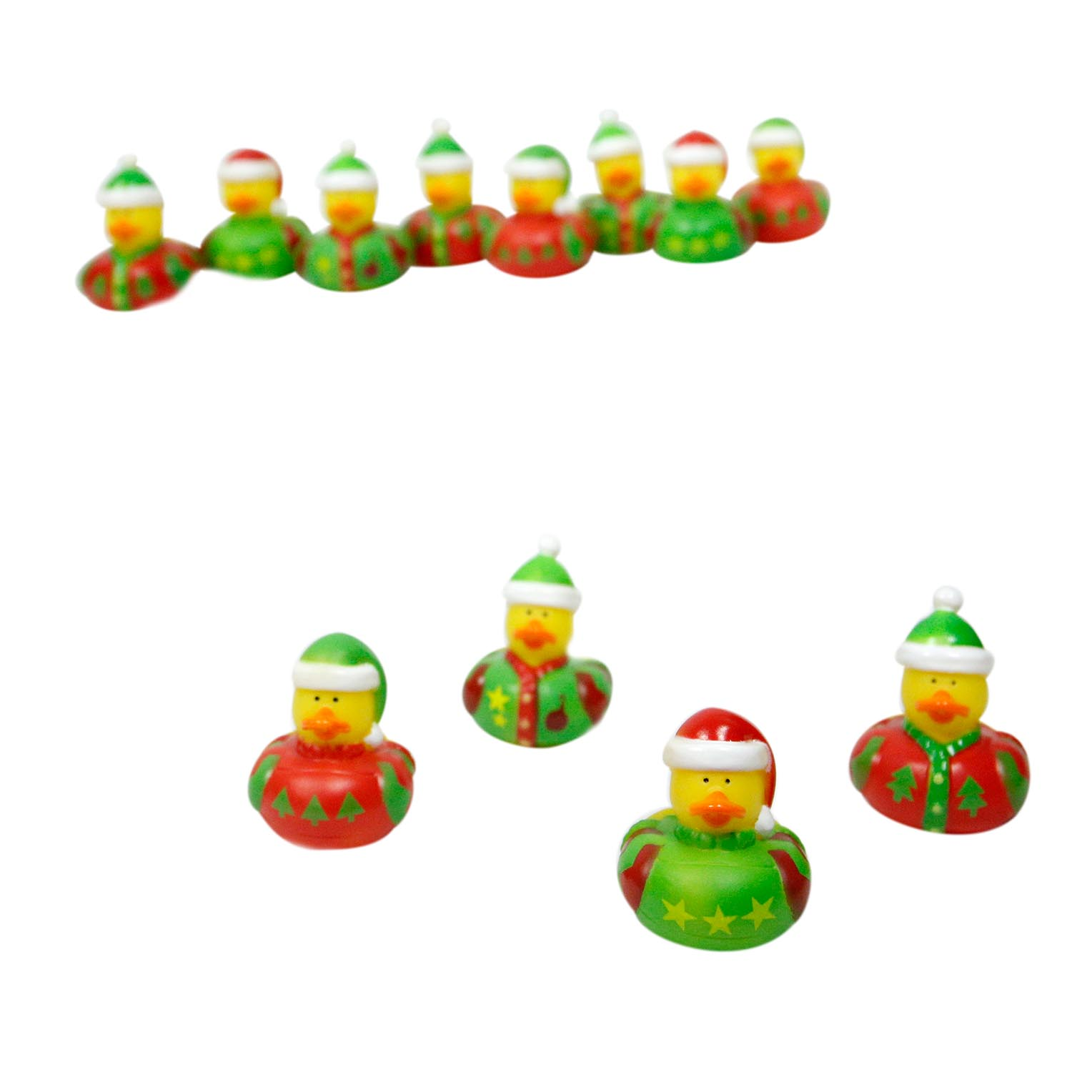 Ugly Sweater Rubber Ducks